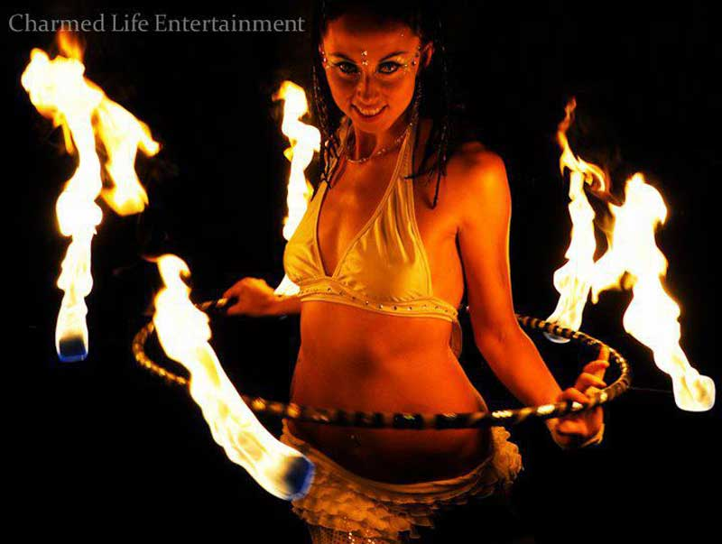 Fire Hoop Performance
